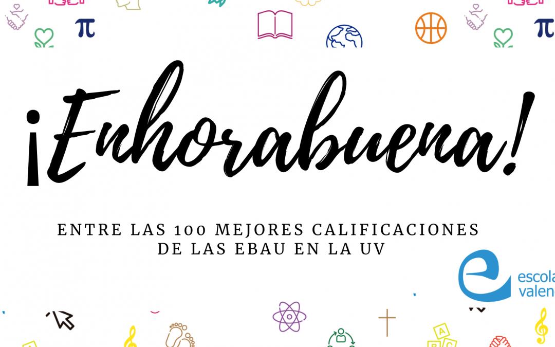 Un alumno de Escolapias, entre las mejores 100 notas de la EBAU