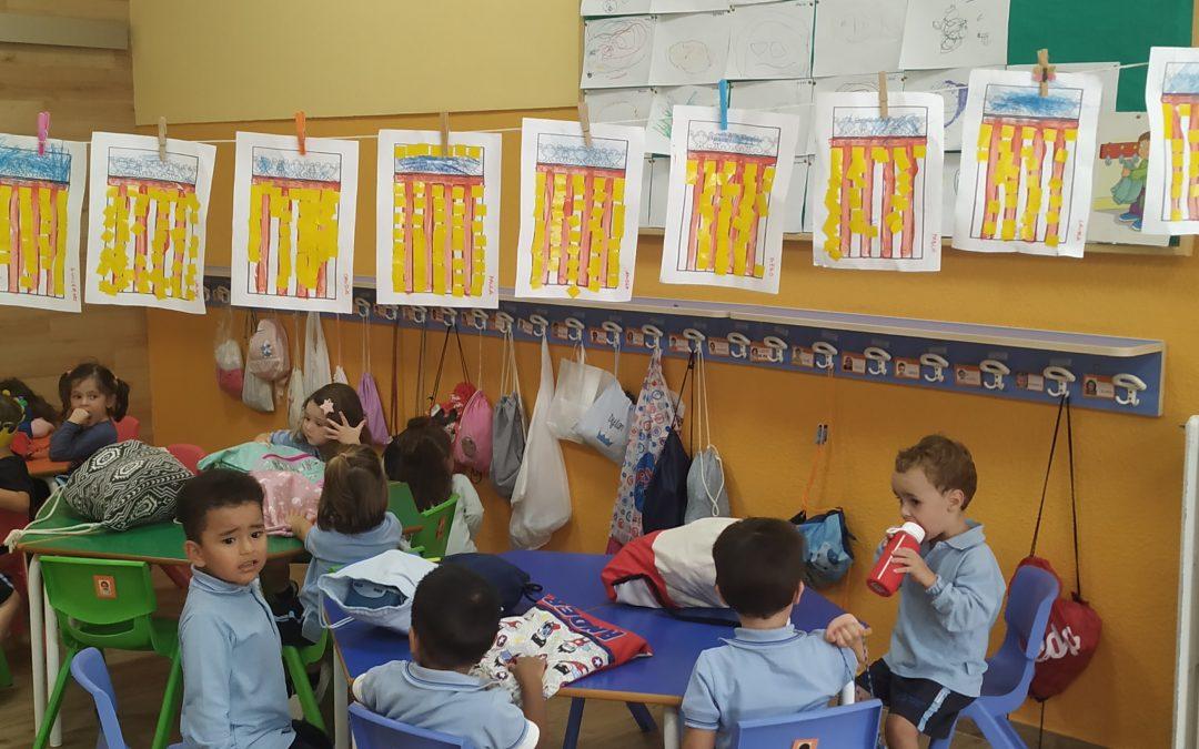 Los alumnos de Educación Infantil celebramos el 9 d'Octubre