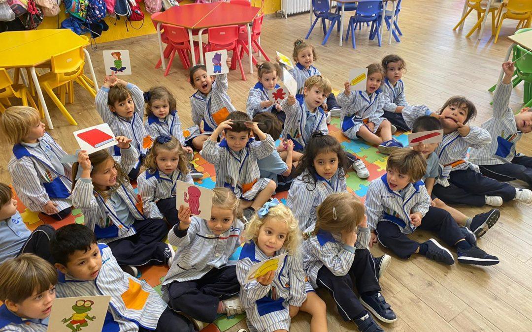 Voleu saber com estem aprenent anglés en Infantil?