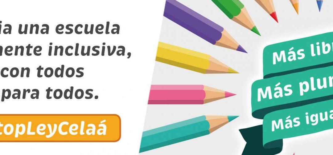 #StopLeyCeláa