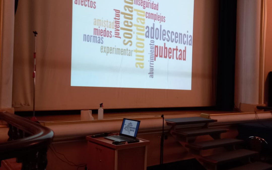 Finalizando las charlas del programa de afectividad